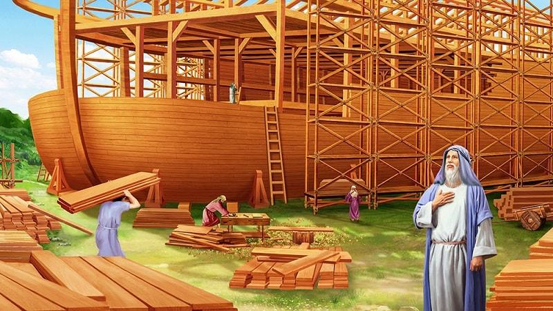 Noah-builds-the-ark_Noahs-Obedience